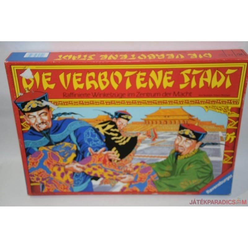 Die verbotene Stadt A tiltott város társasjáték