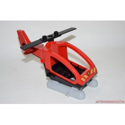 Lego Duplo piros tűzoltó helikopter