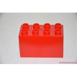 Lego Duplo piros vastag tégla