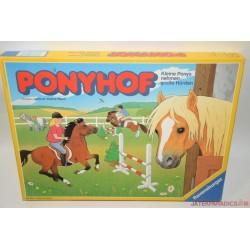Ponyhof Lóverseny társasjáték