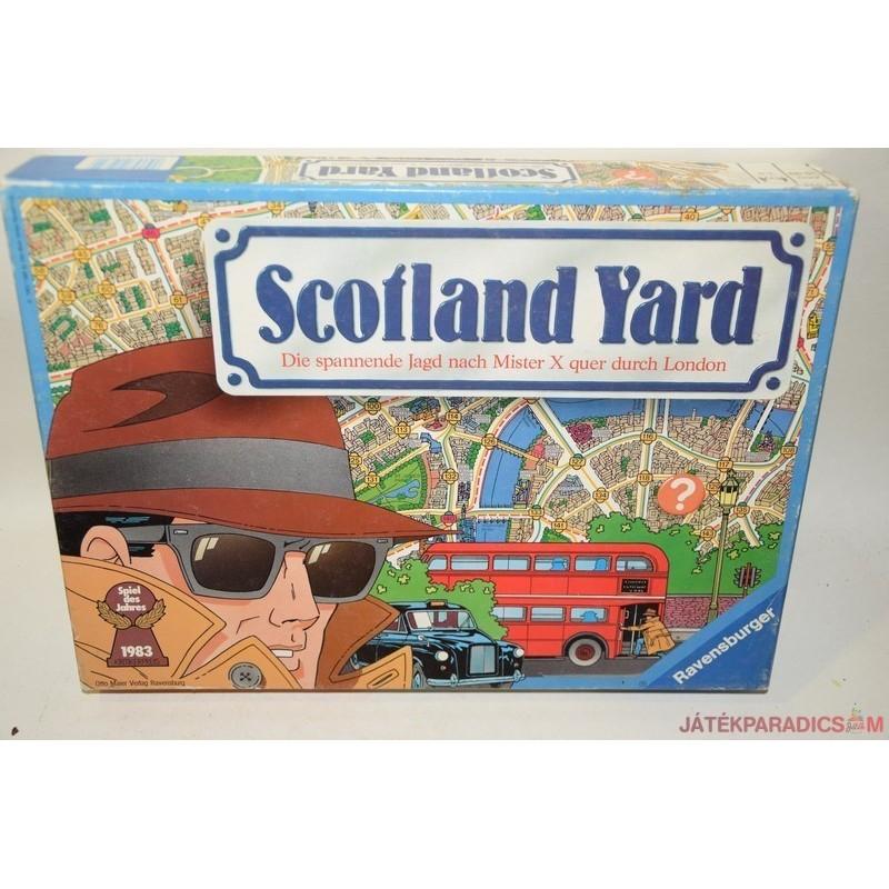 Vintage Scotland Yard nyomozós társasjáték