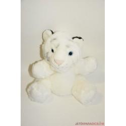 Élethű Wild Republic plüss fehér tigris báb