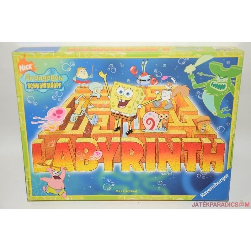 SpongeBob labirintus társasjáték