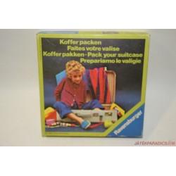 Vintage Koffer packen - Mi fér a kofferbe? társasjáték
