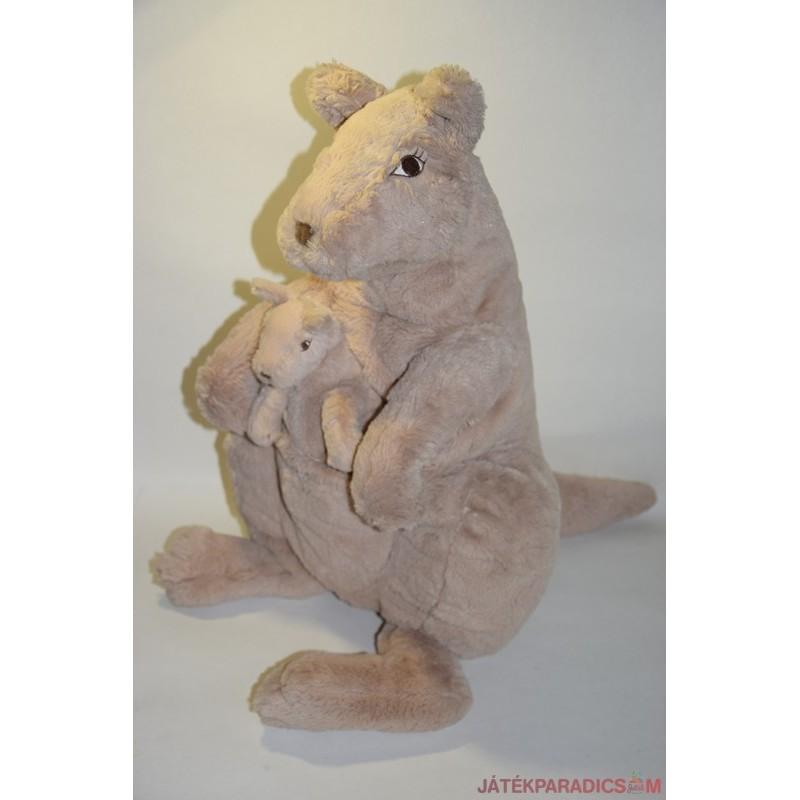 Hatalmas IKEA plüss kenguru kicsinyével
