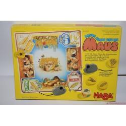 HABA 4175 Bauer Klaus und die Maus Klaus építőmester és az egerek társasjáték