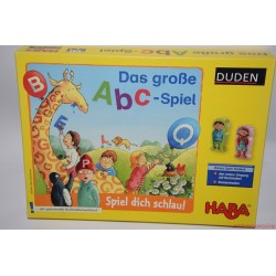 HABA 4688 Das grosse ABC - Spiel DUDEN társasjáték