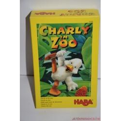 HABA 4349 Charly im Zoo Charlie az állatkertben társasjáték