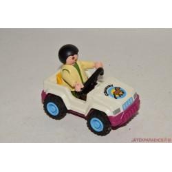 Playmobil játékjeep gyerekkel