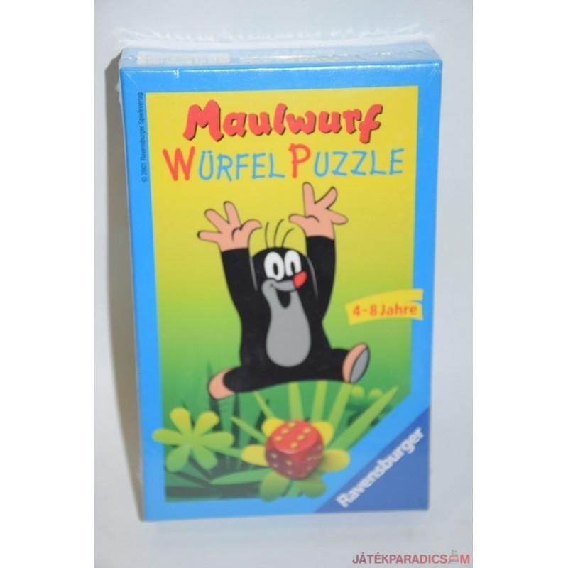 Maulwurf  kisvakond puzzle kirakó társasjáték