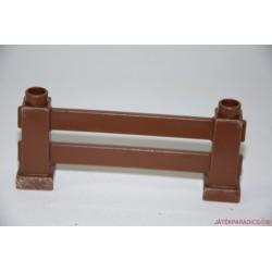 Lego Duplo négyszögletes barna kerítés
