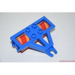 Lego Duplo sárga-piros pengéjű borona