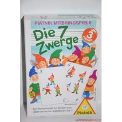 Die 7 Zwerge A 7 törpe kártyajáték társasjáték