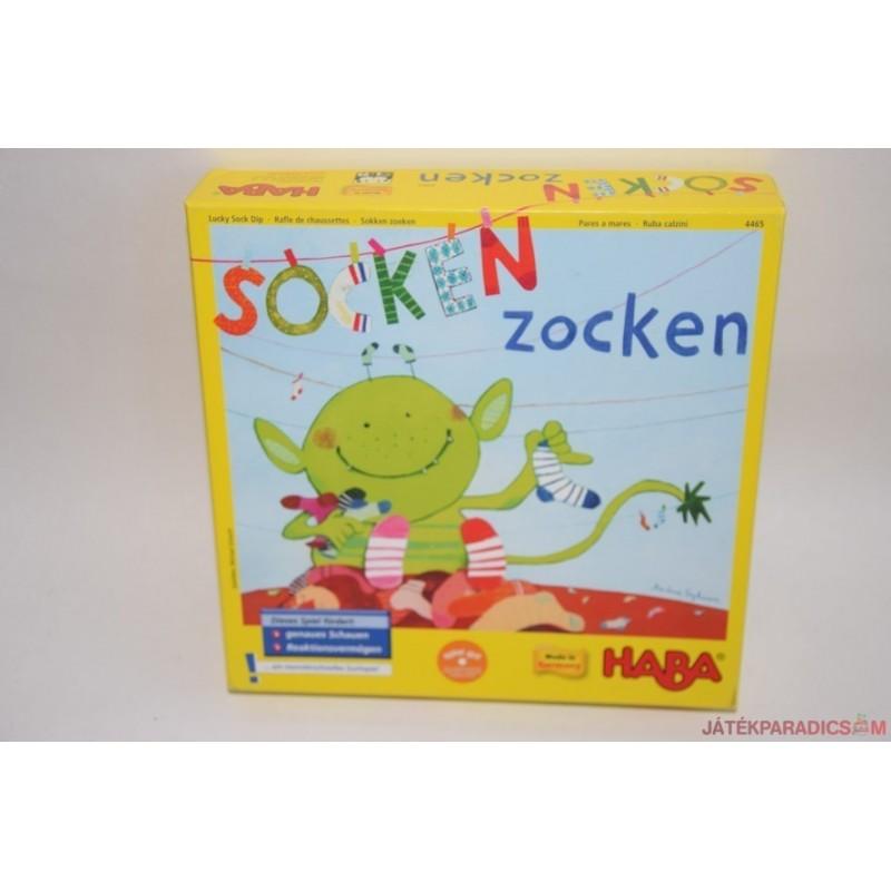 HABA Socken Zocken Zoknis hazárdjáték 4465