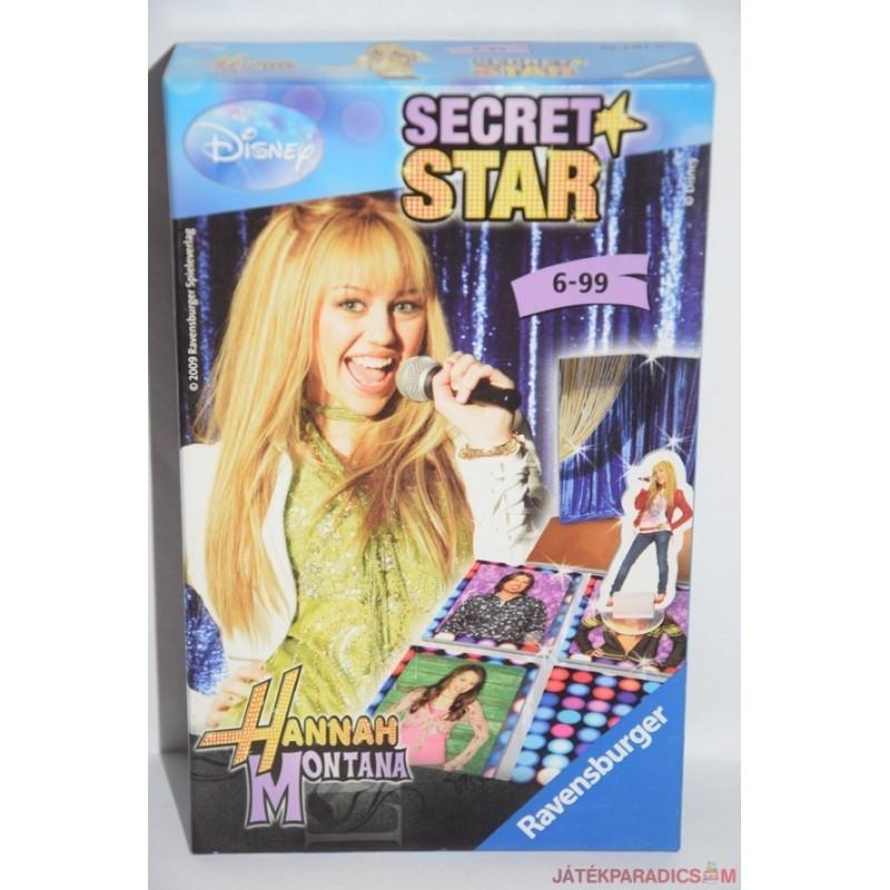 Secret star Hanna Montana társasjáték