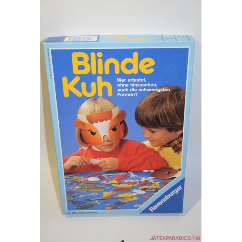 Vintage Blinde Kuh Vak boci társasjáték