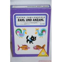 Zahl und Anzahl kártyajáték társasjáték
