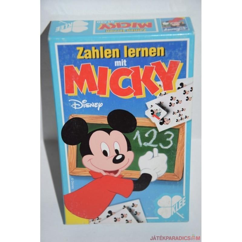 Zahlen lernen mit Micky kártyajáték társasjáték