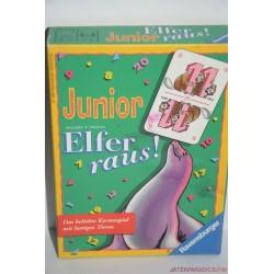 Junior Elfer raus! – Elő a tizenegyesekkel! társasjáték