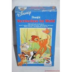 Bambi Verstecken im Wald kártyajáték