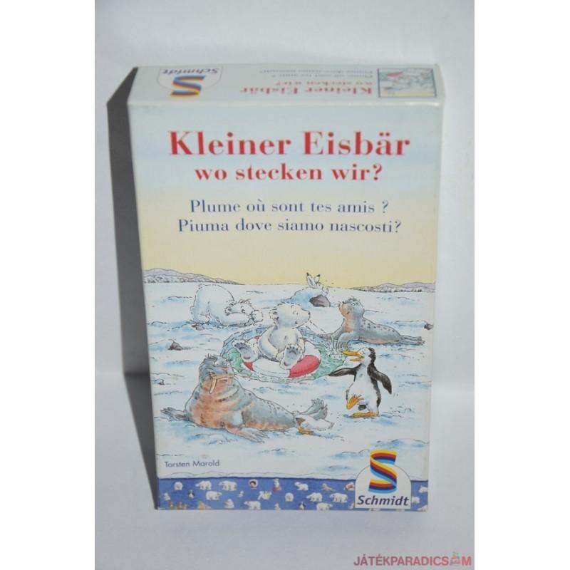 Kleiner Eisbar wo stecken wir? – Bújócska a kis jegesmedvével társasjáték