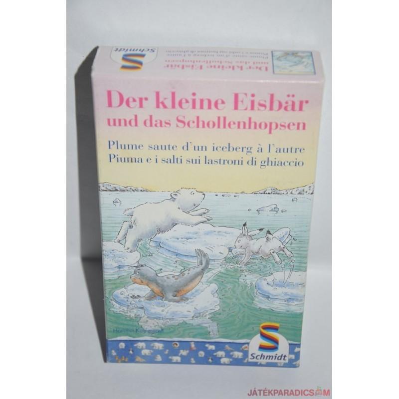 Der kleiner Eisbar und das Schollenhopsen Jegesmedvés társasjáték