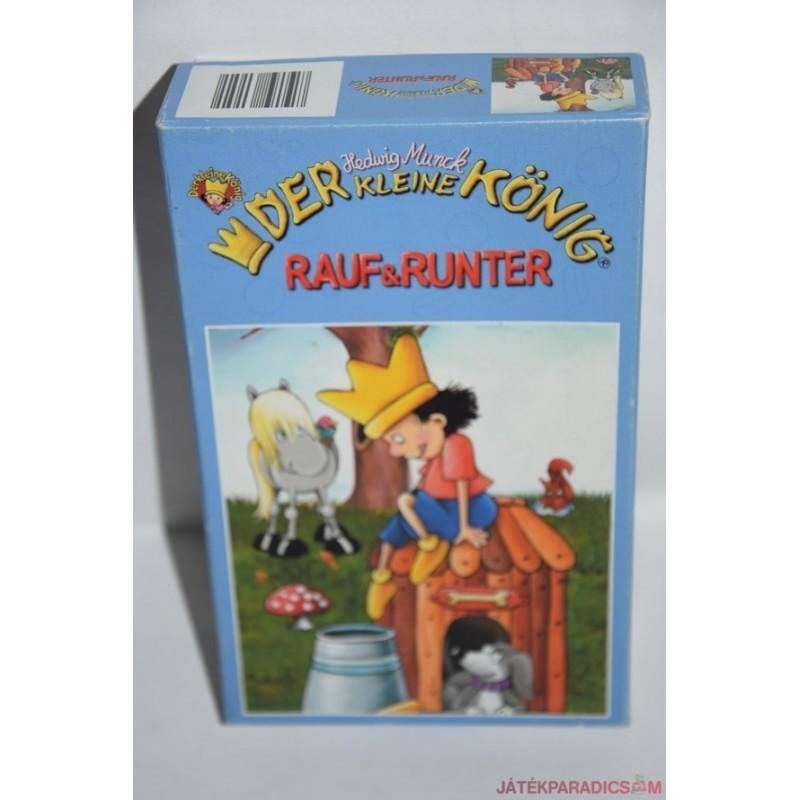 Der kleine König Rauf & Runter Kis királyfi, Fel és Le társasjáték
