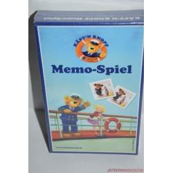 Memo-Spiel Knopf kapitány memória társasjáték