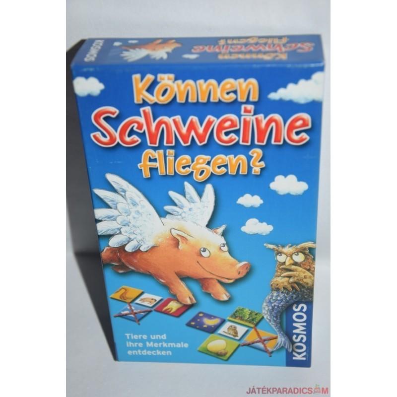 Können Schweine fliegen? Tudnak a malacok repülni? társasjáték
