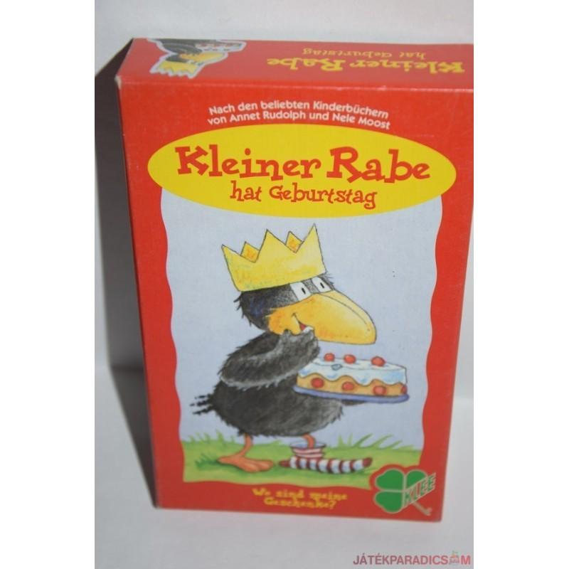 Kleiner Rabe hat Geburtstag – A kis holló szülinapja társasjáték