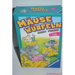 Mause Würfeln Egérkockák  gyűjtsünk egeret társasjáték