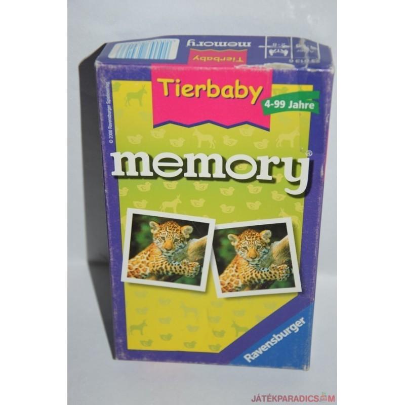 Tierbaby memory Állatkölykök memória társasjáték