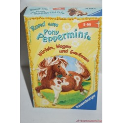Rund um Pony Peppermint Peppermint póni gondozása kártyajáték