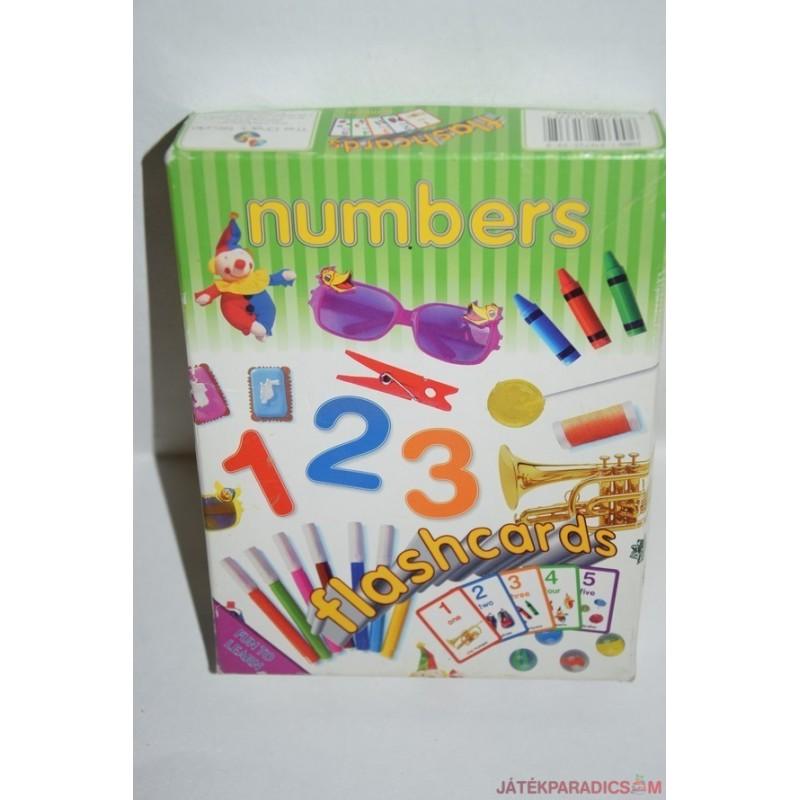 Numbers Angol számokat tanító társasjáték