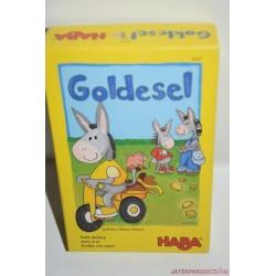 Haba 4447 Goldesel  Aranyszamár  társasjáték