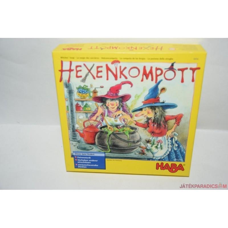 Haba 4454 Hexenkompott Boszorkányleves társasjáték