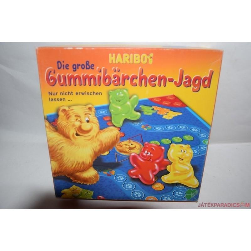 Die grosse Gummibärchen-Jagd – A nagy gumimaci-vadászat társasjáték