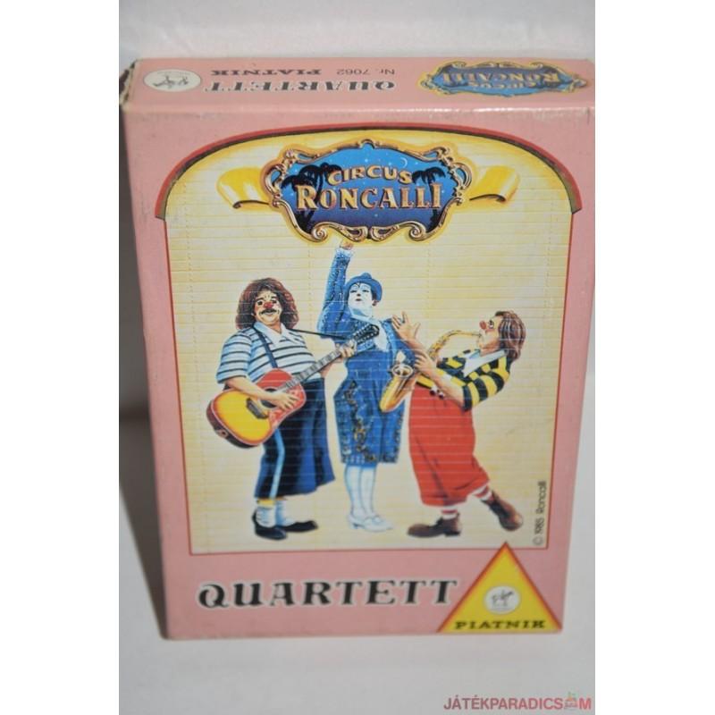 Circus Roncalli Quartett römi kártyajáték