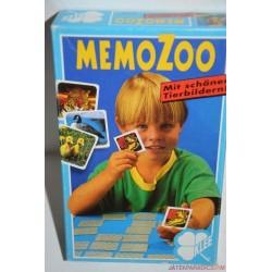 Memo Zoo Memória társasjáték