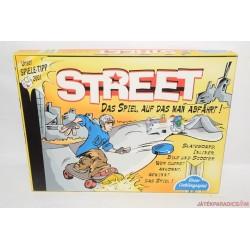 Street gördeszkaverseny társasjáték