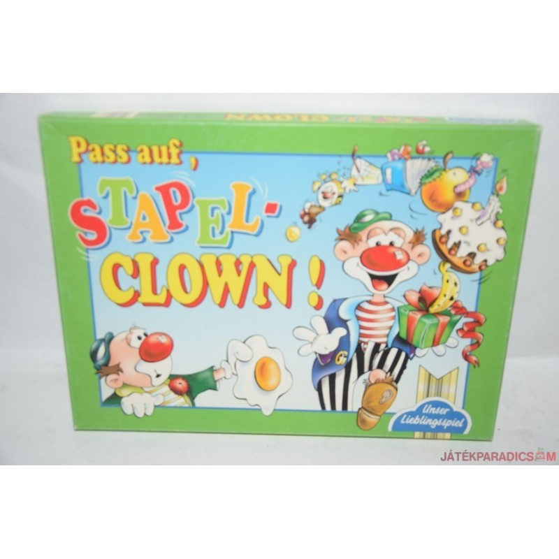 Pass auf, Stapelclown!  Egyensúlyozó bohócok társasjáték