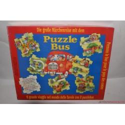 Puzzle bus társasjáték Ritkaság!!!