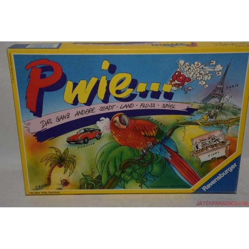 P wie… – P, mint…társasjáték