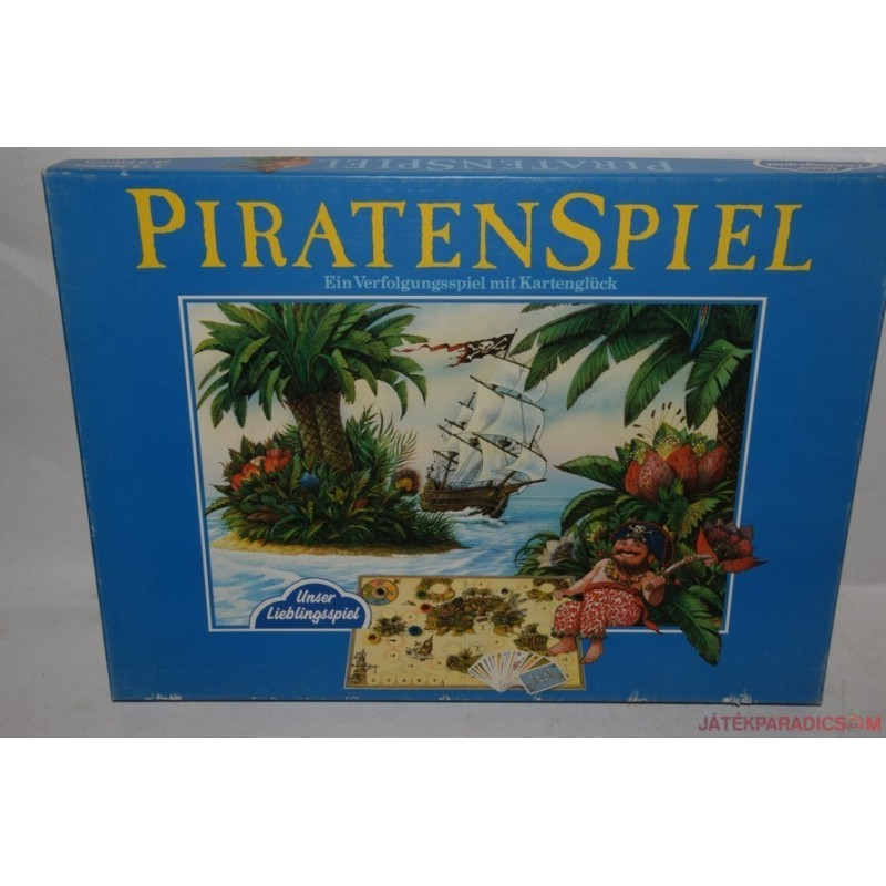 Piratenspiel Kalózos társasjáték