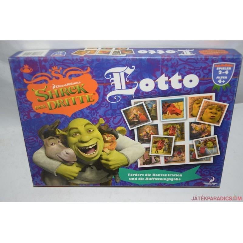 Shreck lottó játék