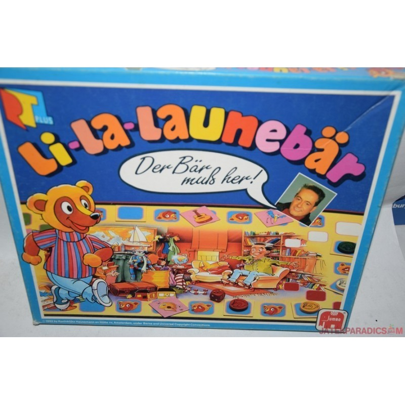 Li-La-Launebär – Trallala-maci társasjáték