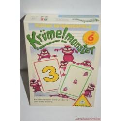 Krümelmonster Szórnyszámoló kártyajáték társasjáték