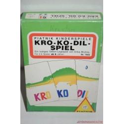 Kro-ko-dil Szóvonat szótanító társasjáték