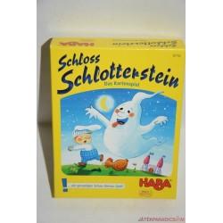 Haba 4716 Schloss Schlotterstein Kísértetkastély kártyajáték társasjáték