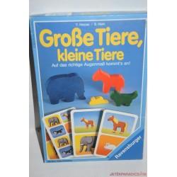 Grosse Tiere, kleine Tiere Nagy és kicsi társasjáték